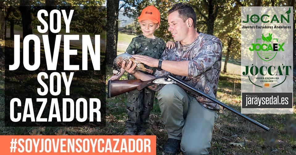 La campaña #soyjovensoycazador viraliza en las redes sociales