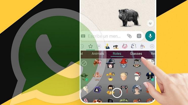 Cómo hacer tus propios stickers de caza o pesca para WhatsApp