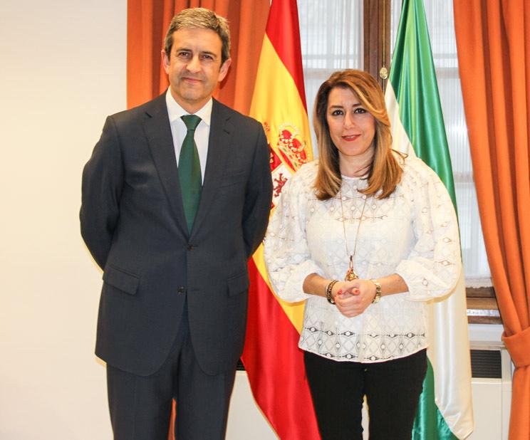 Susana Díaz apoya las manifestaciones de cazadores del 15-A