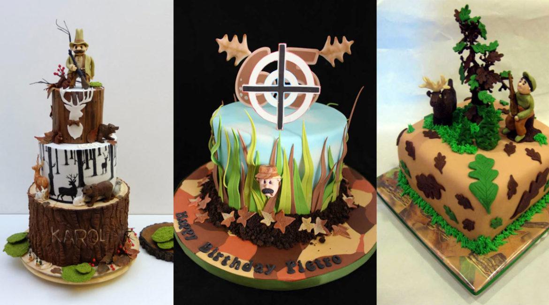Seis originales tartas de cumpleaños para sorprender a un cazador