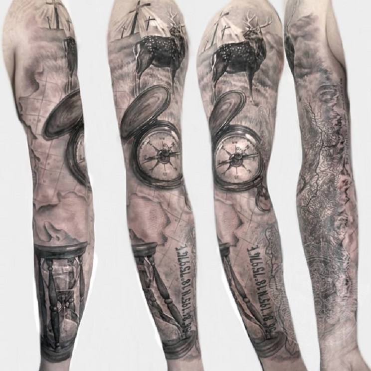 tatuajes de caza-12