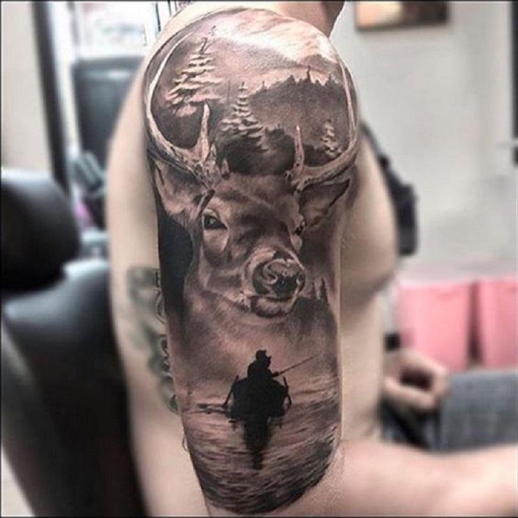 tatuajes de caza-15