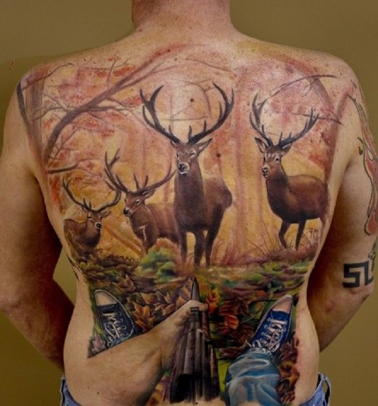 tatuajes de caza-16