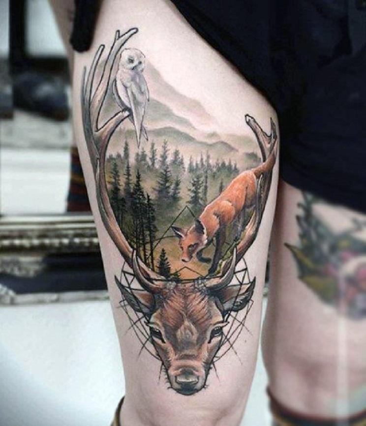 tatuajes de caza-23