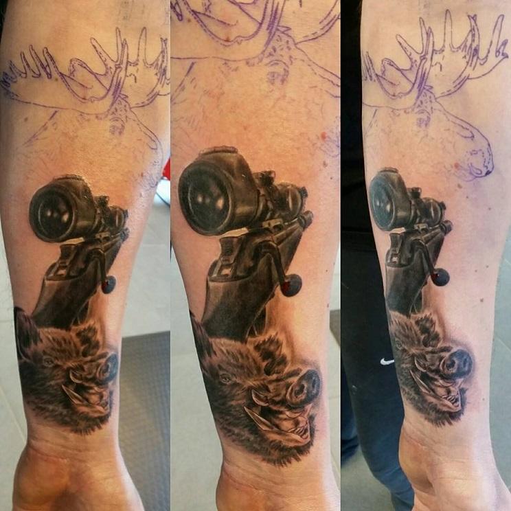 tatuajes de caza-26