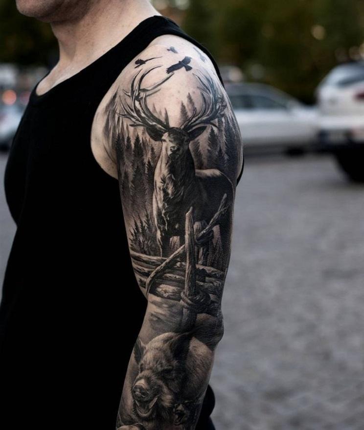 tatuajes de caza-27