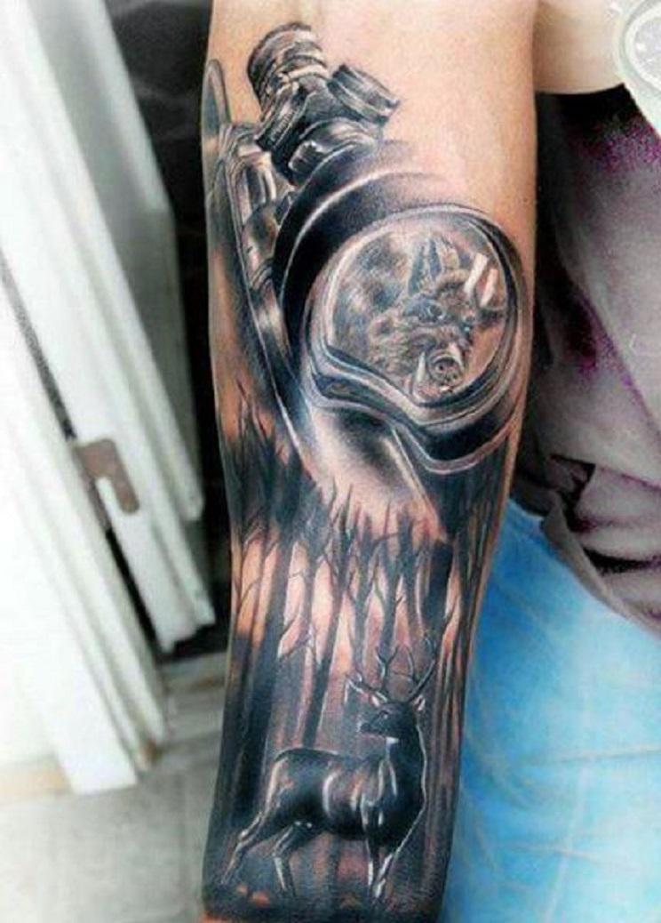 tatuajes de caza-4