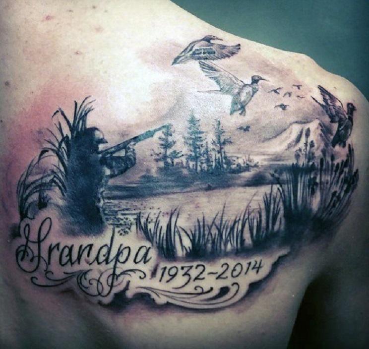 tatuajes de caza-6