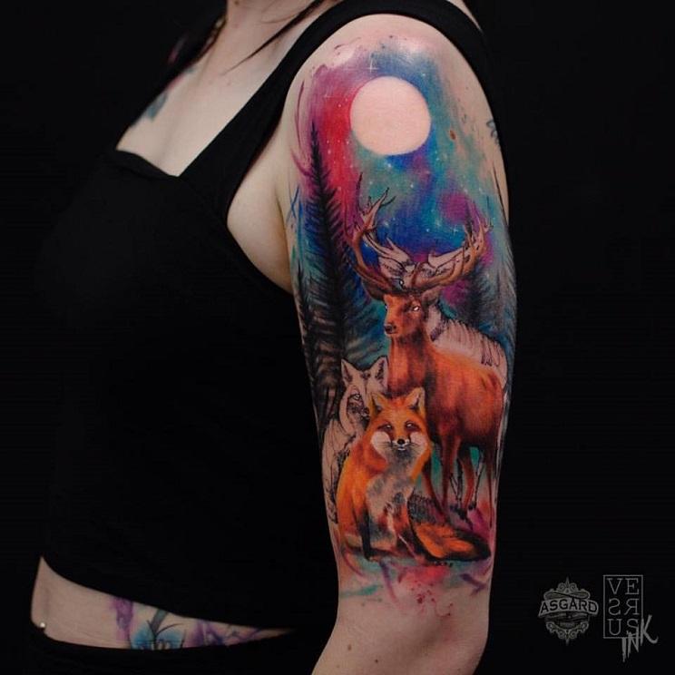 tatuajes de caza-7
