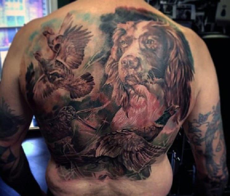 tatuajes de caza-9