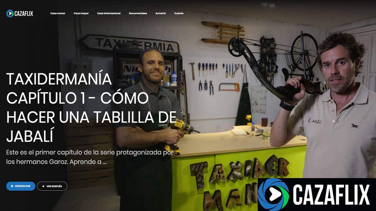Cazaflix estrena Taxidermanía: los hermanos Garoz que te enseñarán a hacer taxidermia en el garaje de tu casa