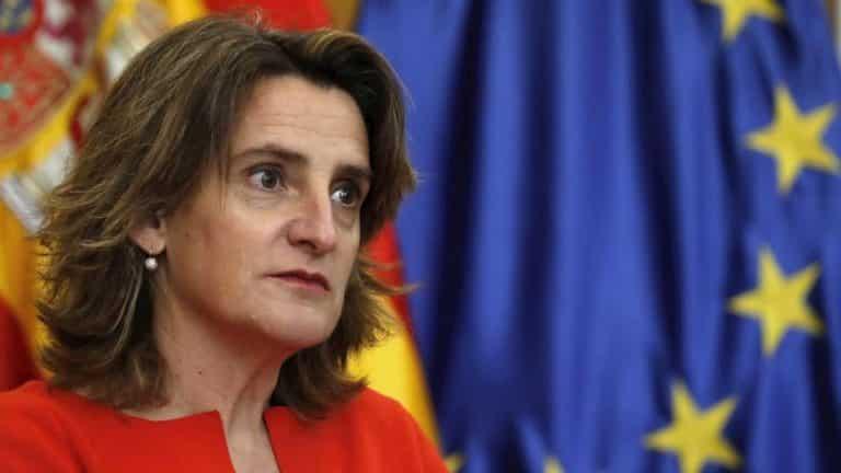Teresa Ribera, vicepresidenta del Gobierno. /EFE