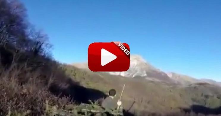 Así se vivió el terremoto de Italia en un coto de caza