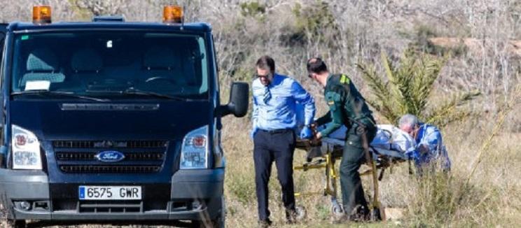 Un tropiezo y un disparo accidental, principal hipótesis de la muerte de un cazador en Alicante