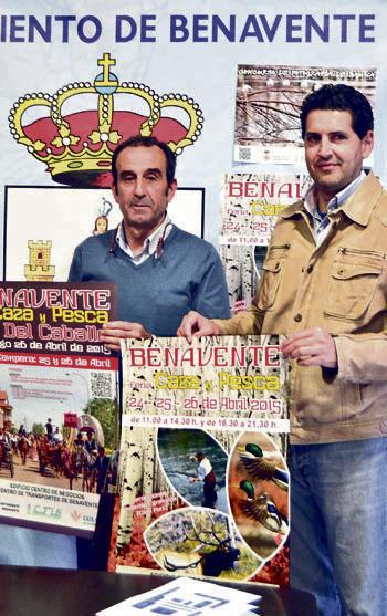 Una exposición sobre el hombre y el paisaje, en la Feria de Caza de Benavente