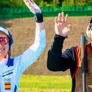 España vence a Rusia en el GP de Rabat de tiro al plato gracias a Alberto Fernández y Fátima Gálvez