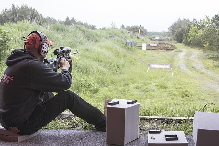 tiro con rifle