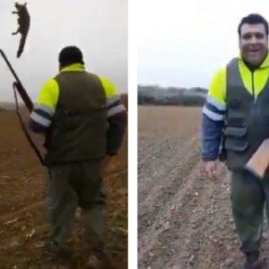 El Seprona propone retirar el permiso de armas al individuo que se ensañó con un zorro