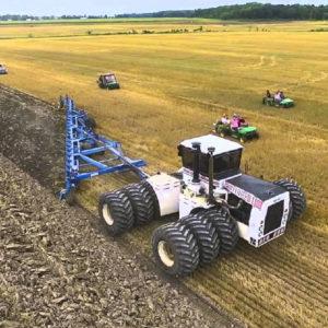 Así es el tractor más grande del mundo