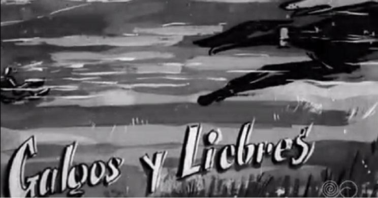 En 1959 TVE emitía estas curiosas imágenes sobre la caza con galgos