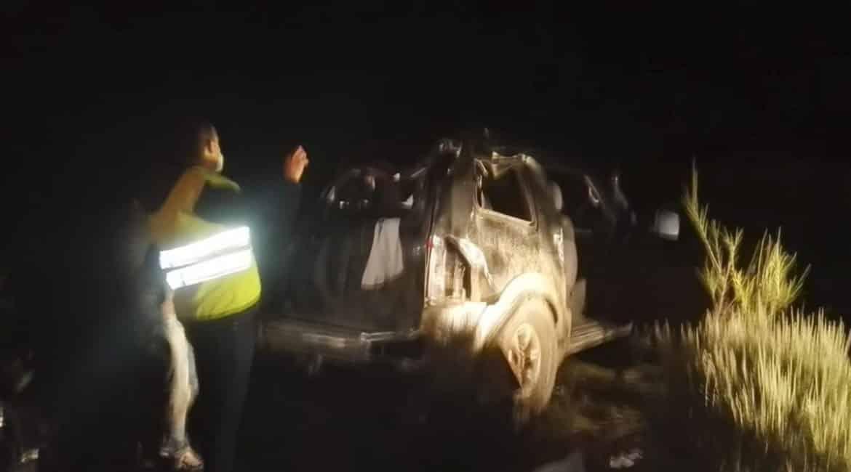 Tres heridos tras empotrar su coche contra una pared por culpa de un jabalí