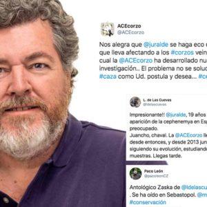 El último gran zasca de los cazadores a Juantxo López de Uralde