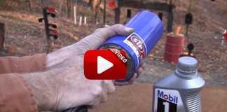 utiliza filtro de aceite como silenciador