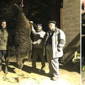 Cazan un enorme 'vakamulo' de 144 kilos tras el que llevaban tres años