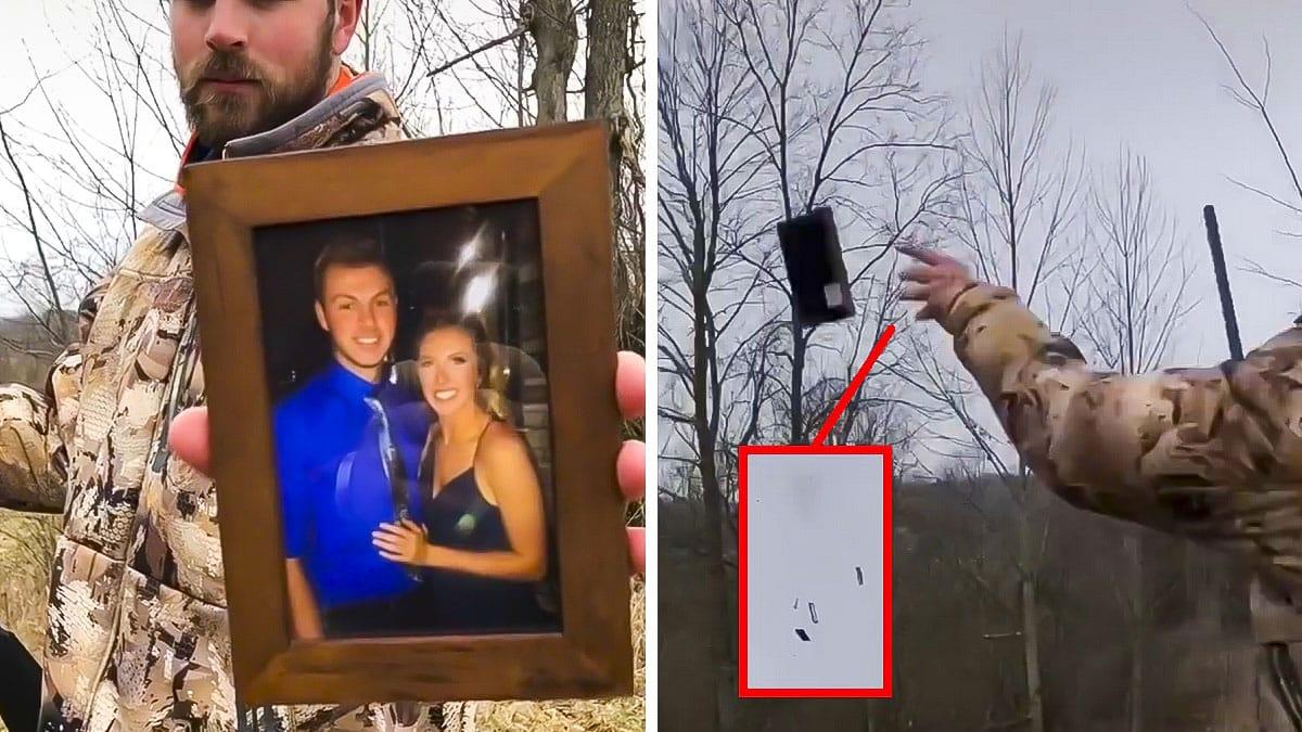 Un cazador rompe con su pareja y su reacción arranca las carcajadas de las redes