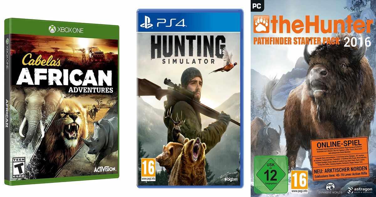 Nueve videojuegos de caza que no puedes perderte