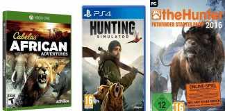 videojuegos de caza