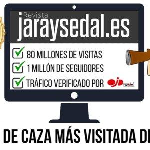 Jara y Sedal, la web de caza más visitada de España con 4.129.688 de sesiones en abril