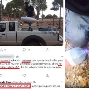 Un tuitero critica a los cazadores por salvar a un ciervo quemado y se lleva este zasca