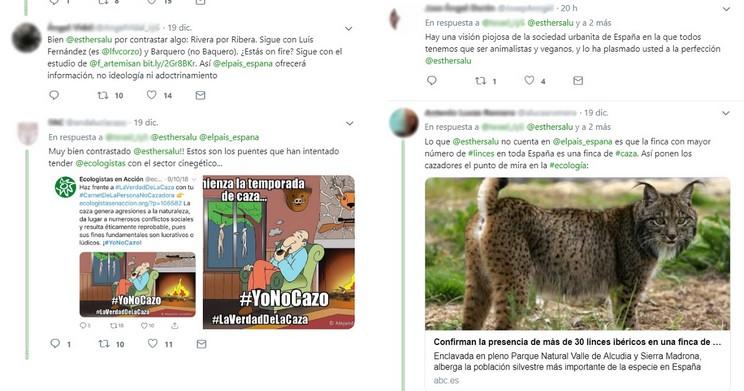 El País publica otro artículo sesgado sobre la caza y se lleva estos zascas