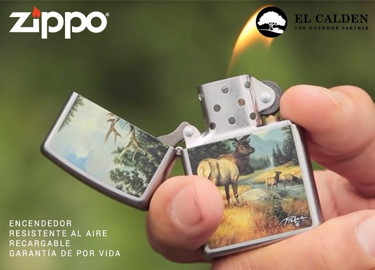 El Calden distribuidor oficial de Zippo